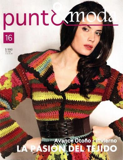 Moda Knitting Books : Best images about revistas on pinterest crochet