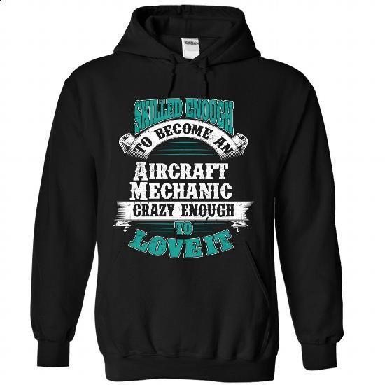 Aircraft Mechanic #tee #clothing. MORE INFO => https://www.sunfrog.com/LifeStyle/Aircraft-Mechanic-1591-Black-Hoodie.html?60505