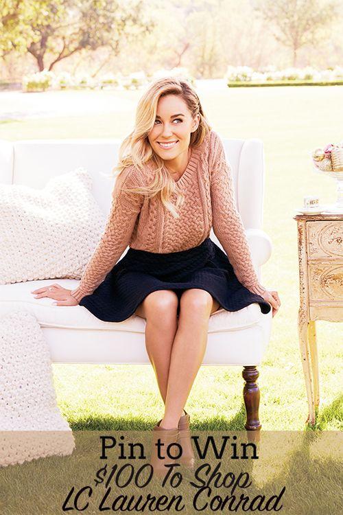 Pin It to Win It: Lauren Conrad's $100 Kohl's Gift Card Giveaway
