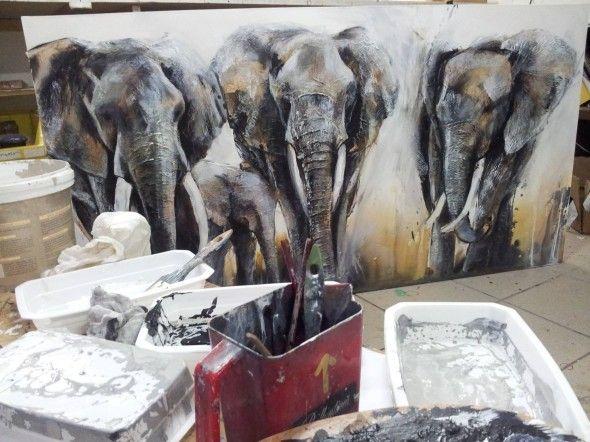 Rencontre avec Alice Locoge, artiste peintre animalier - l'Atelier Géant