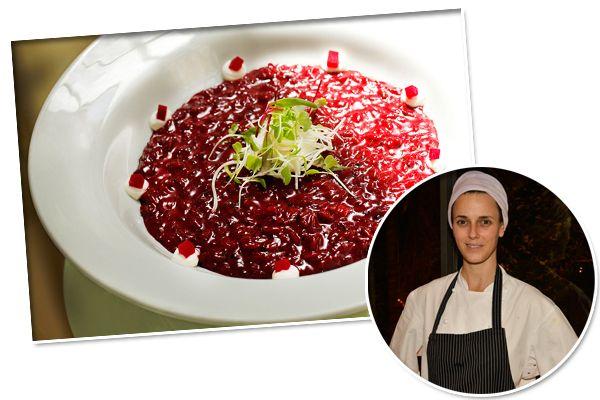 Helena Rizzo revela receita de risoto de beterraba no Maní