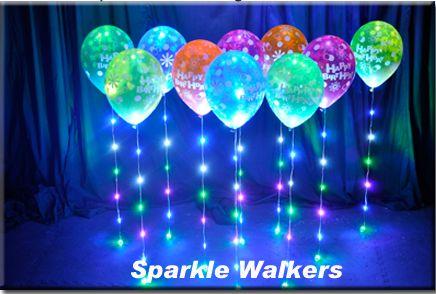How do you get balloons to sparkle? Ask the balloon ...
