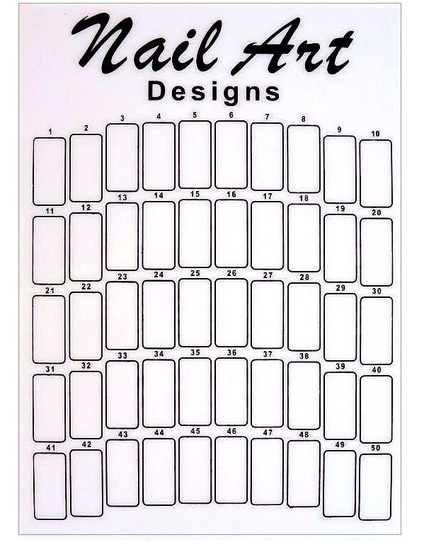 Weißfarbenes Mustertip Display. Präsentationsdisplay/Ständer. Für 50 Tips | eBay