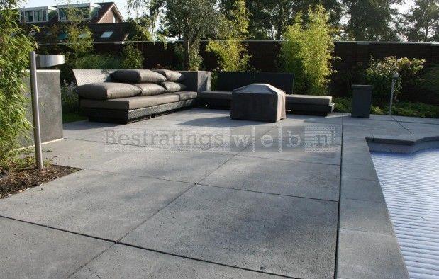 Terrastegels 100x100 Antraciet.Schellevis Oud Hollandse Tegel Antraciet 100x100x5 Cm Tuin