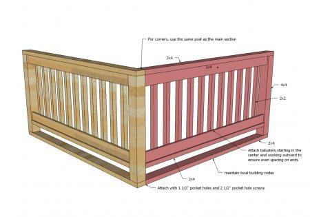17 best Deck railing ideas images on Pinterest | Verandas ...