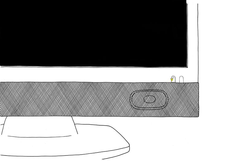 Pippol Lives in TV #illustration
