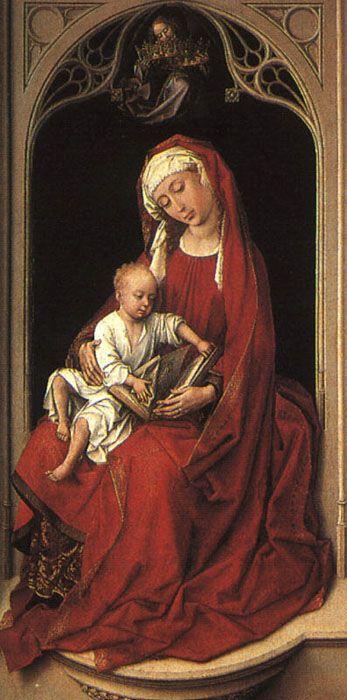 Rogier van der Weyden - Maria mit Christuskind (Madonna Duran) (c. 1435-1440)