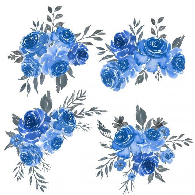 Conjunto Acuarela De Arreglo Floral Marco Azul Clipart Floral Verano Conjunto Png Y Vector Para Descargar Gratis Pngtree Flores Para Dibujar Arte Con Flores Salpicadura De Acuarela