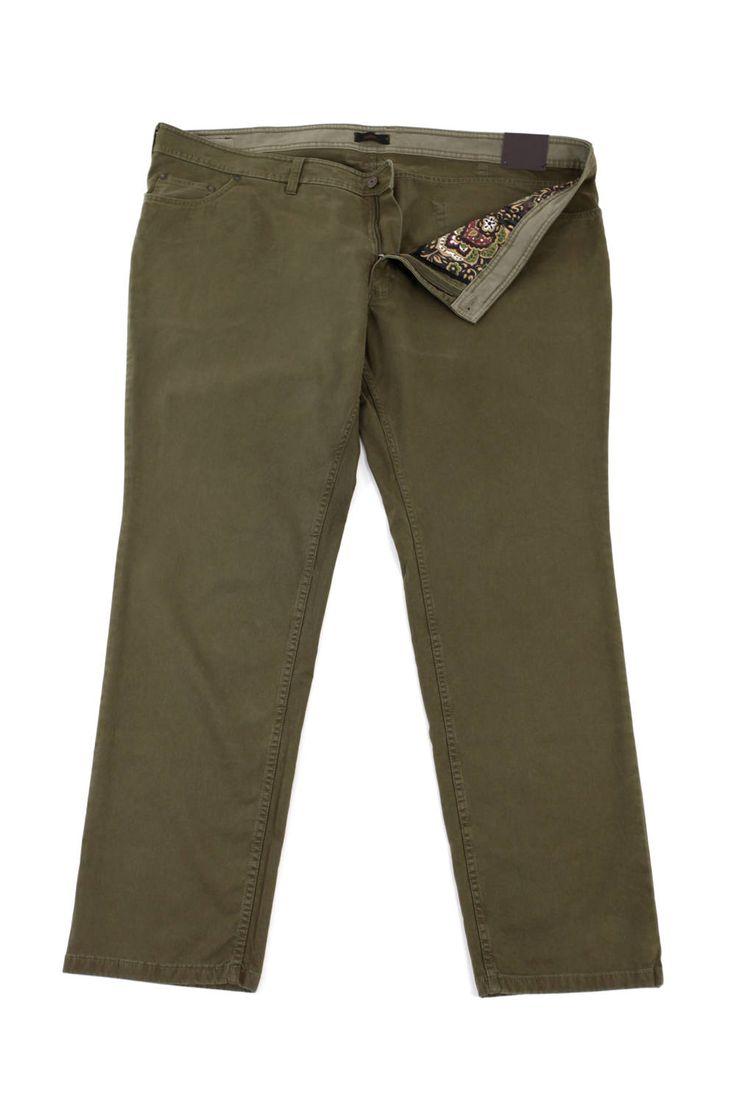 Spodnie Sunwill w kolorze khaki. Dla Panów o dużych rozmiarach. Dostępne w rozmiarach 3XL, 4XL, 5XL, 6XL, 7XL, 8XL. Skład: 97% bawełna 3 % elastan.