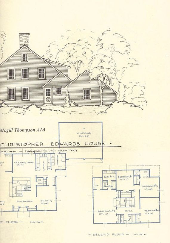 79 best images about house plans on pinterest house for Colonial reproduction house plans