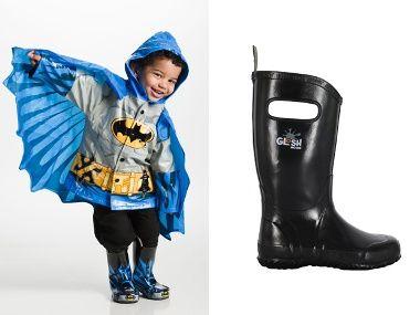 Kids Rain Gear | Everywhere - DailyCandyWestern Chief Batman raincoat, available at mysweetmuffin.com, $49.50