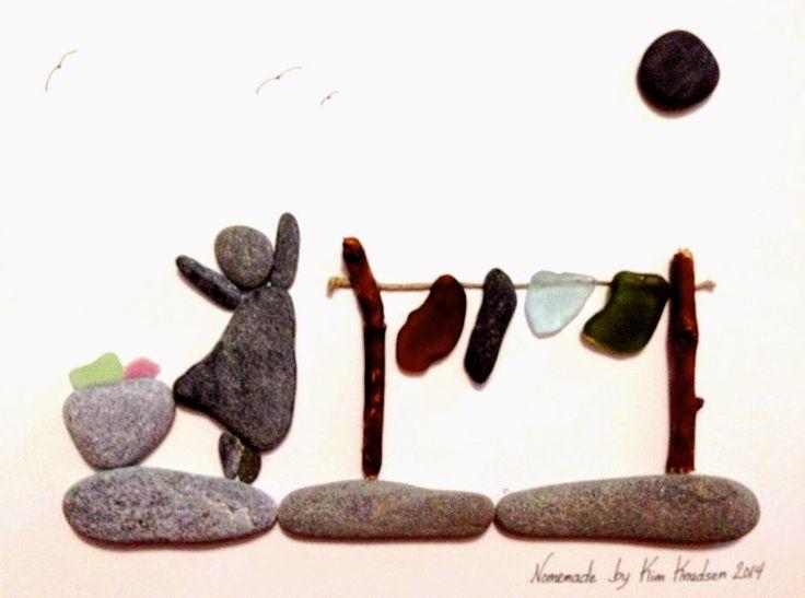 Nomemade Beach Rock Art