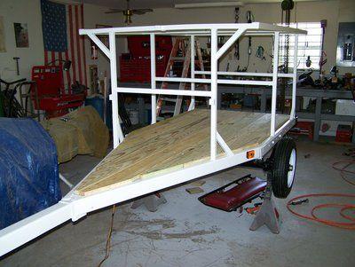 kayak trailer, 2 tier or 3
