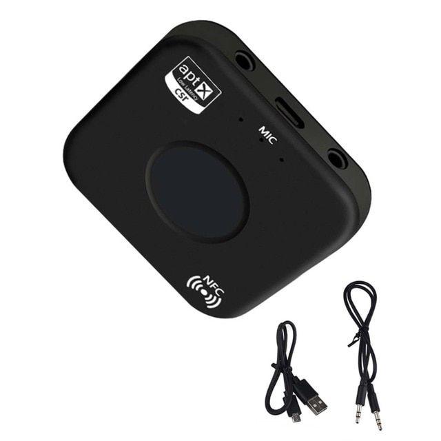 Wireless Bluetooth Audio Transmitter Receiver Music Adapter APTX AUX NFC