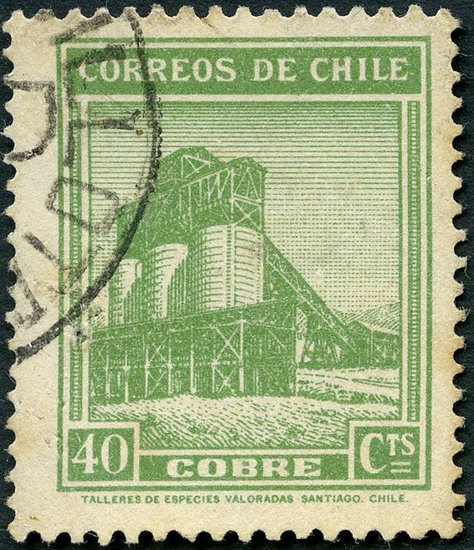 El cobre en Chile