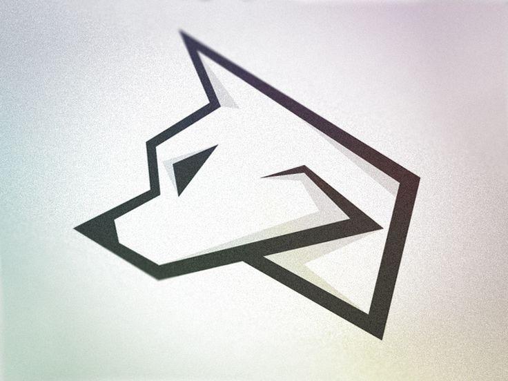 Wolf Logo - WIP   Wolves, Simple - 48.8KB