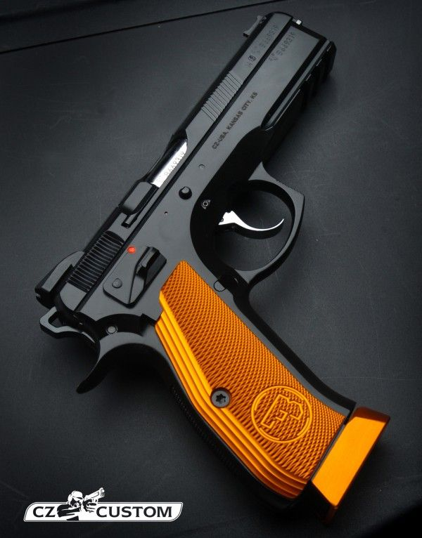 CZ 75 SP01 9mm Shadow ORANGE Save those thumbs & bucks w/ free shipping on this Smith and wesson M&p Shield magloader I purchased mine http://www.amazon.com/shops/raeind   No more leaving the last round out because it is too hard to get in. And you will load them faster and easier, to maximize your shooting enjoyment.