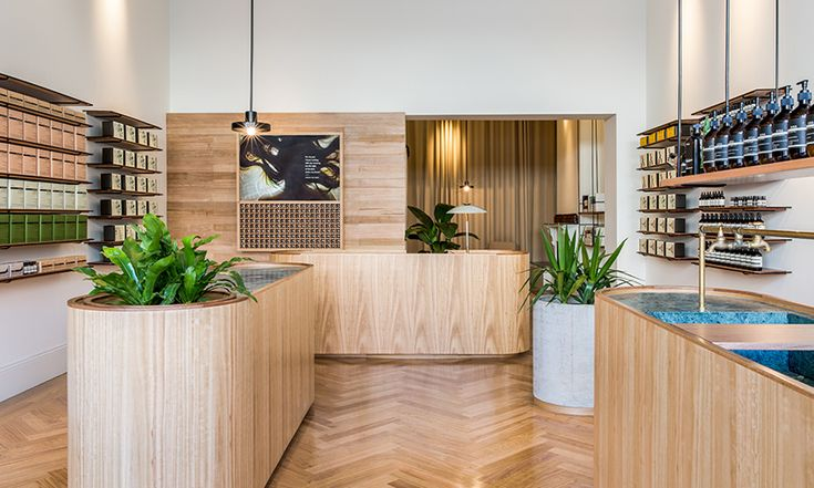 The design of Aesop's new flagship Adelaide store is a significant departure…
