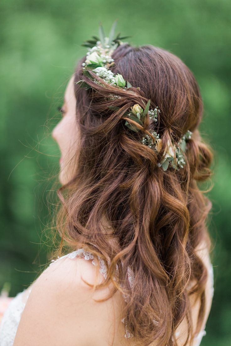 Free wedding on the Scherauer Hof - bridal hairstyles and hair for