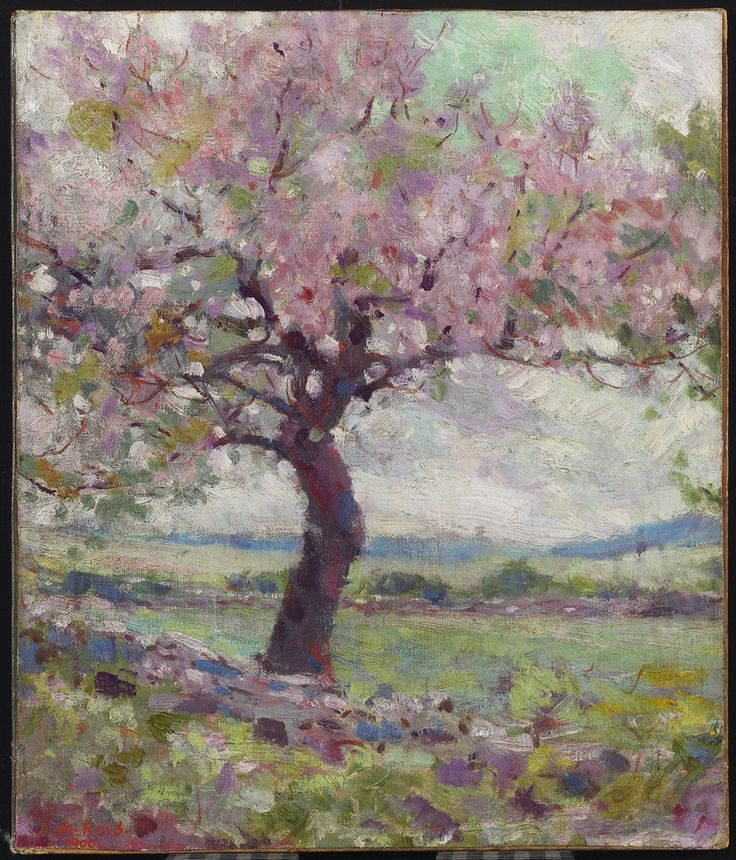 The Pink Tree, 1900 George Agnew Reid