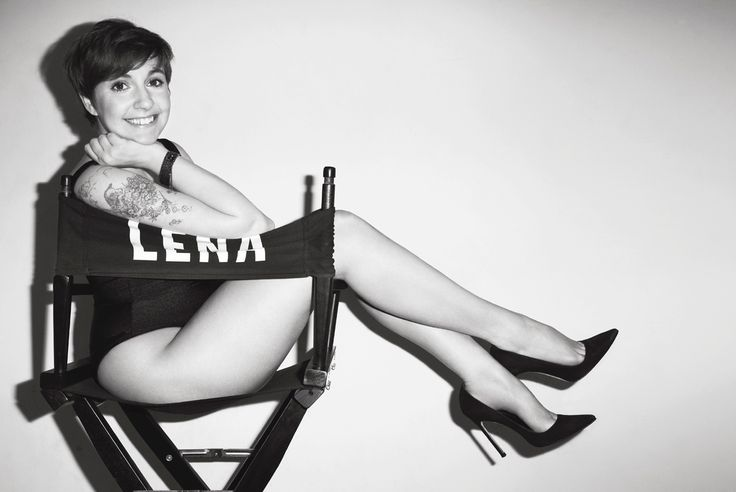 "Lena Dunham in V MAGAZINE  ""GIRL POWER"" photographed by Terry Richardson"