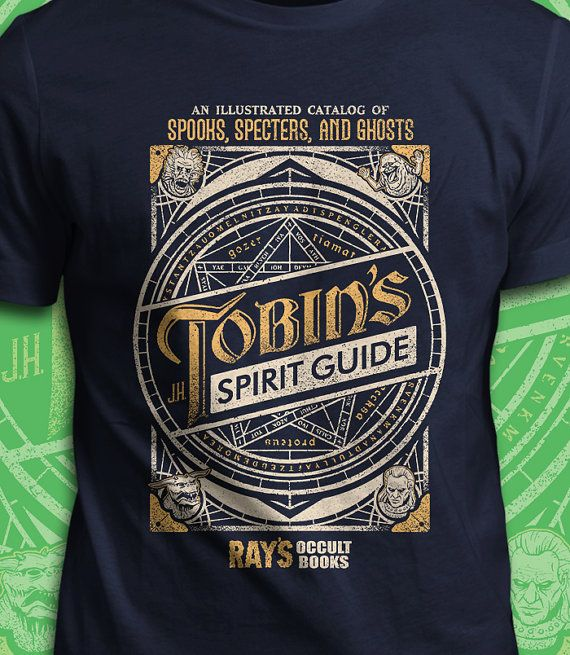 Tobin's Spirit Guide  Ghostbusters T-Shirt  Men's /