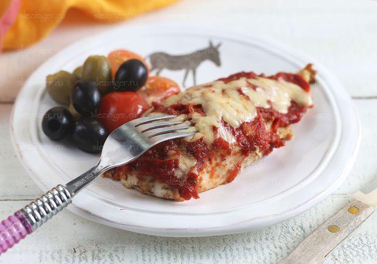 Диетический обед: курица парминьяна | Рецепты правильного питания - Эстер Слезингер