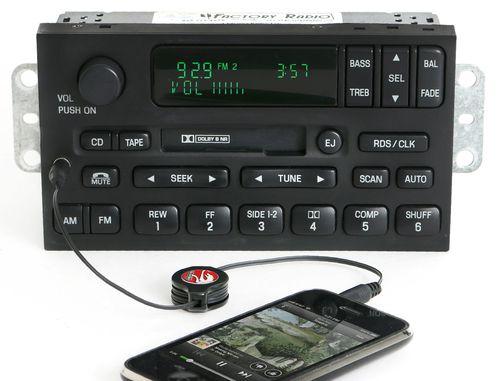 Mercury Villager 1999-02 AM FM Cassette w CD Control & Aux Input XF5F-18C870-AD