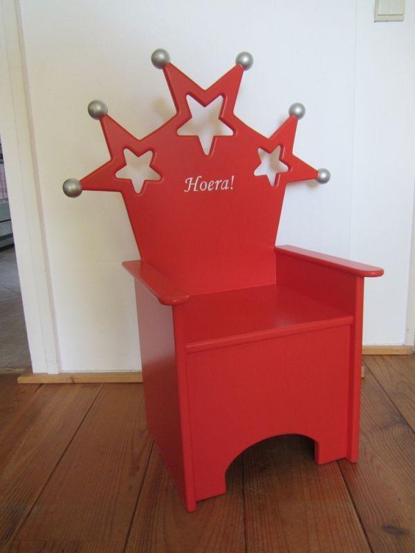 Kinderstoel, sterrenstoel, verjaardagsstoel
