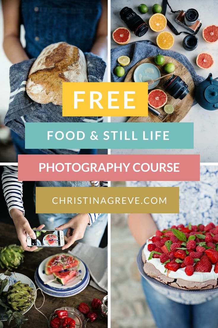 Free Photography Course to Help You Capture Beautiful  FOOD + STILL LIFE Photos - It´s 100% FREE! Sign up at www.christinagreve.com or at http://christinagreve.com/free-photography-course/