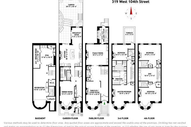 Latest Brownstone Floor Plans 7 Perception Floor Plans New York Brownstone Simple House Plans