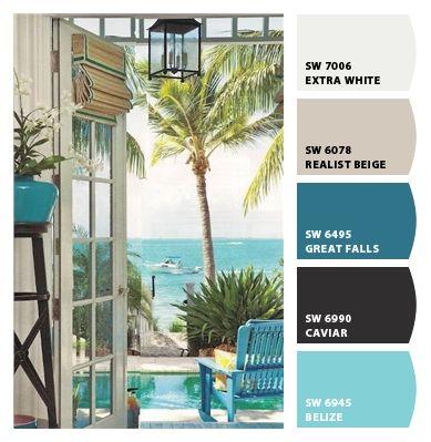 Dream beach palette