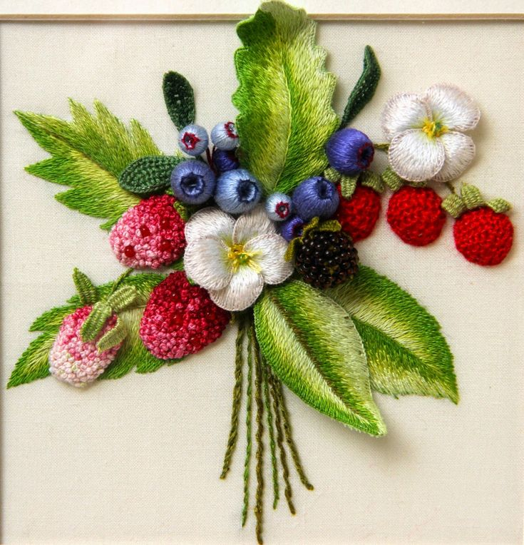 Beautiful Stumpwork Embroidery!