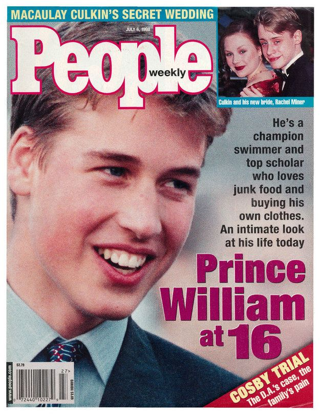 People Magazine - July 6, 1998 - Prince William