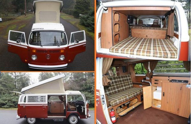 1978 Volkswagen Bus Camper Volkswagenwestfalia Volkswagenbeetle Volkswagenjetta Vwkombicamper Volkswagenkomb In 2020 Vw Bus Interior Volkswagen Bus Bus Camper