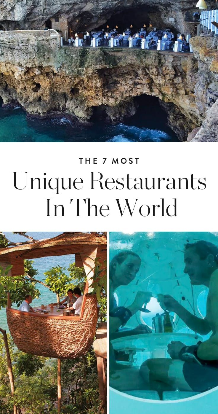 The 7 Most Unique Restaurants in the World via @PureWow