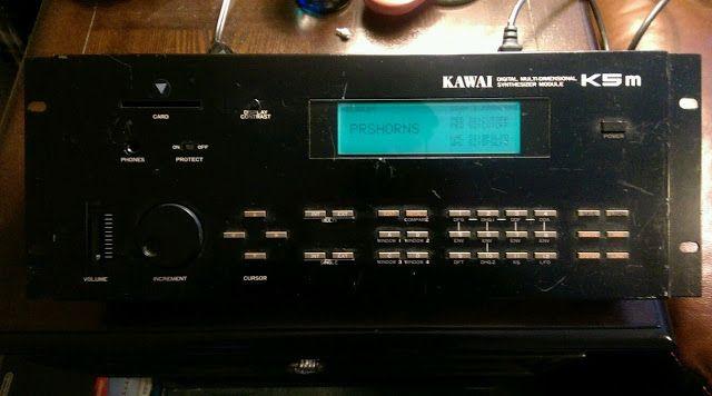 MATRIXSYNTH: Kawai K5m Multi-Dimensional Additive Synthesizer