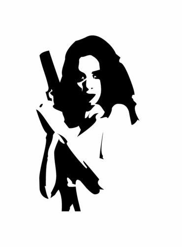трафарет девушка с пистолетом: 3 тыс изображений найдено в Яндекс.Картинках