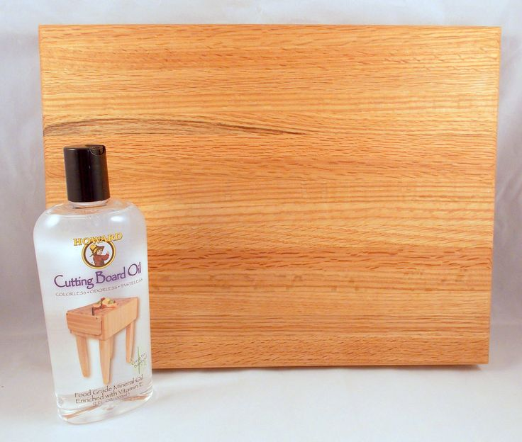 Handcrafted Wooden Cutting Board Assorted Woods Plus Cutting Board Oil #6