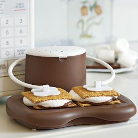 S'mores Maker.... WHAT?: Smore Maker, S More Maker, This Is Awesome, Campfires Treats, Take My Money, Treats Anytim, Kitchens Products, Great Gifts, Shut Up