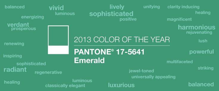 BZCasa Magazine - http://mag.bzcasa.it/abitare/arredamento/il-colore-del-2013-e-il-verde-smeraldo-parola-di-pantone-1636/