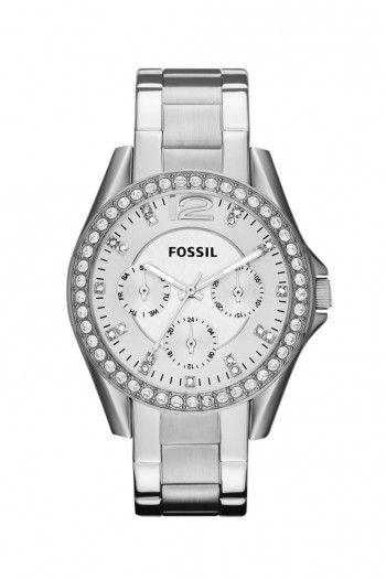 Fossil Riley dames horloge ES3202   JewelandWatch.com