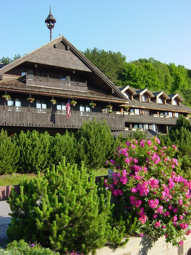 I want to stay at the Trapp Family Lodge in Stowe, Vermont -- the inn run by the Von Trapp Family of Sound of Music fame.