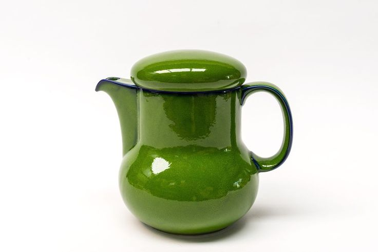 Thomas Germany, Scandic Shadow Green, Large Teapot