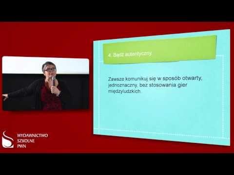 Dorota Zawadzka o autorytecie nauczyciela - YouTube