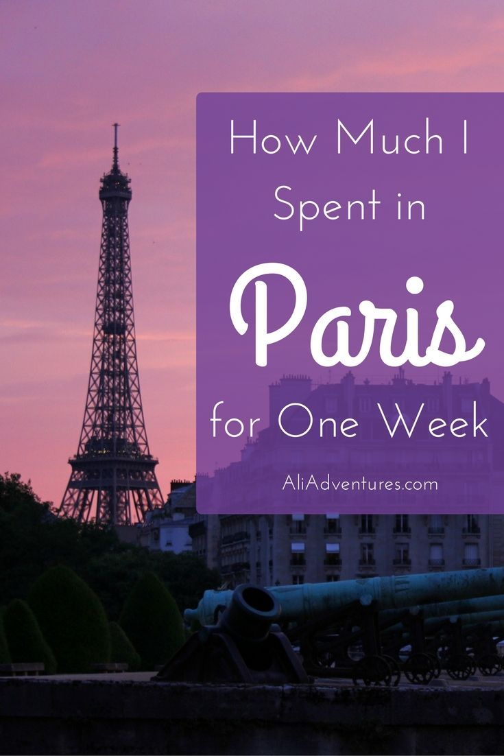 Paris, France is a dream trip for many, but it's not a cheap destination. Here's a look at how much I spent traveling for one week in Paris including tours.