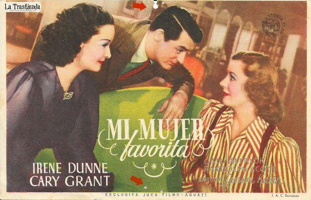 Mi Mujer Favorita - Programa de Cine - Cary Grant - Irene Dunne