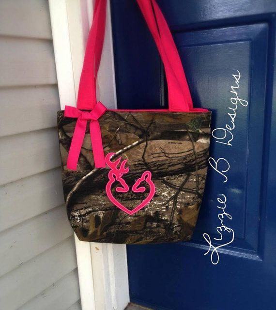 Hunting Camo Handbag by LizzieBDesigns2013 on Etsy, $35.00
