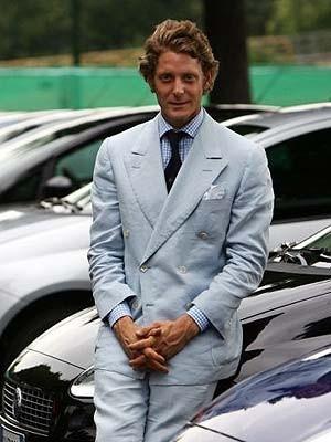 Lapo Elkann, FIAT heir