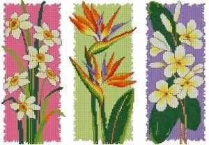 Color schemes.  Triptych